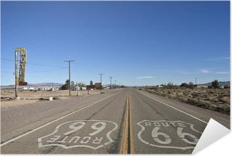 Zelfklevende Poster Bagdad Californië - Historic Route 66