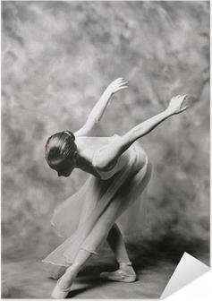 Zelfklevende Poster Ballerina 2