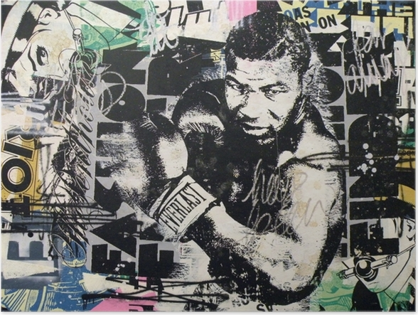 Zelfklevende Poster Banksy -