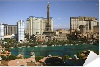 Zelfklevende Poster Casino's van Las Vegas