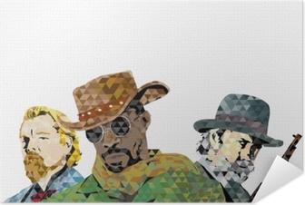 Zelfklevende Poster Django
