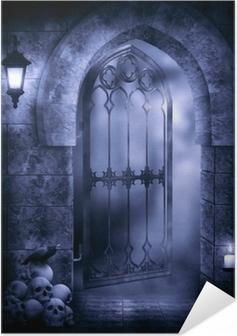 Zelfklevende Poster Gotische Fantasy