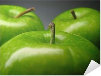 Zelfklevende Poster Groene appel