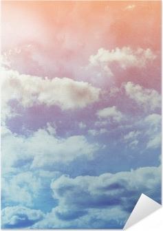 Zelfklevende Poster Grunge papier textuur. abstracte aard achtergrond
