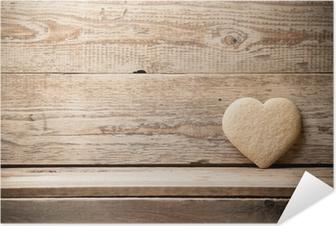 Zelfklevende Poster Heart