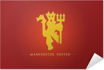 Zelfklevende Poster Manchester United
