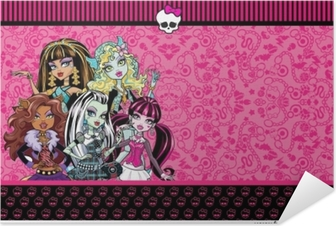 Zelfklevende Poster Monster High
