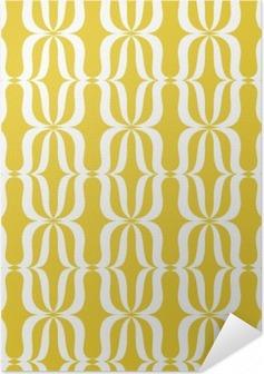 Zelfklevende Poster Naadloze vintage patroon
