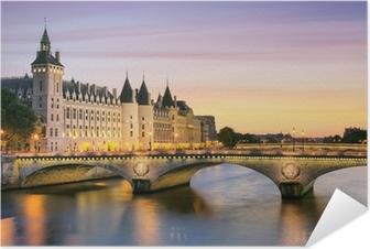Zelfklevende Poster Parijs, Conciergerie