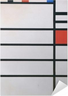 Zelfklevende Poster Piet Mondriaan - Trafalgar Square