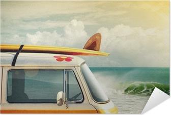 Zelfklevende Poster Surfen Way of Life