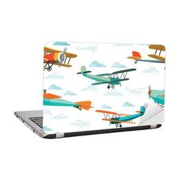 Nálepka pro školáka - Retro letadla