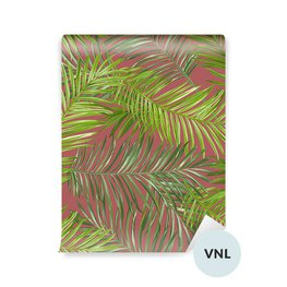 Papel Pintado - Hojas de palma tropical