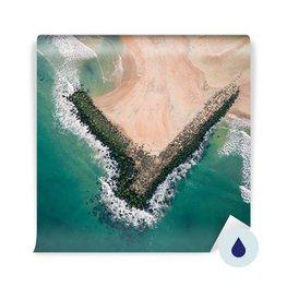 Fototapeta - Letecký pohled na moře