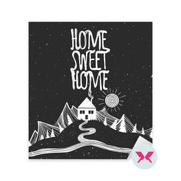 Sticker - Home sweet home