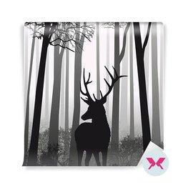 Valokuvatapetti - Hirvet metsässä