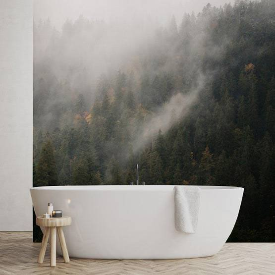 Wall Mural - Foggy Forest