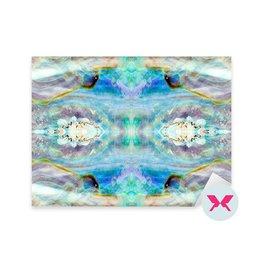Naklejka - Błyszcząca masa perłowa z muszli Abalone