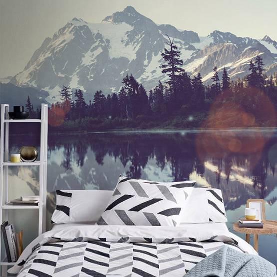 Papier peint - Beau paysage