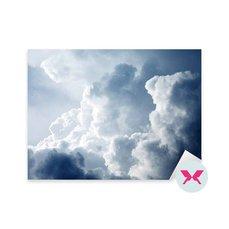 Çıkartması - Fırtınalı bulutlarla dolu dramatik gökyüzü