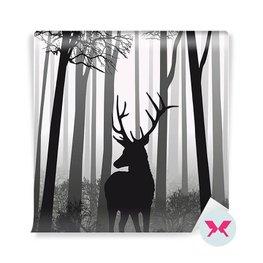Fototapeta - Jeleń w lesie