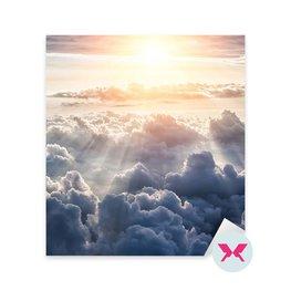 Çıkartması - Güzel mavi gökyüzü