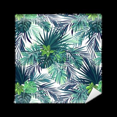 papier peint motifs mod le de vecteur exotique botanique. Black Bedroom Furniture Sets. Home Design Ideas