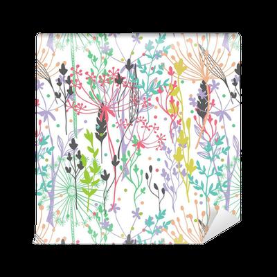 Tapete sch ne farbe gras silhouette pixers wir leben um zu ver ndern - Fliesenaufkleber gras ...