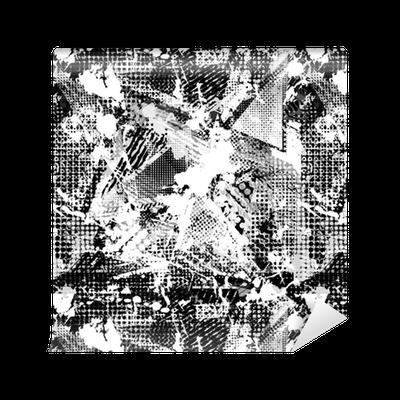 Abstract Urban Seamless Pattern Grunge Texture Background