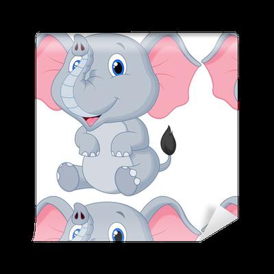 Cute Baby Elephant Cartoon Wallpaper Pixers We Live To Change