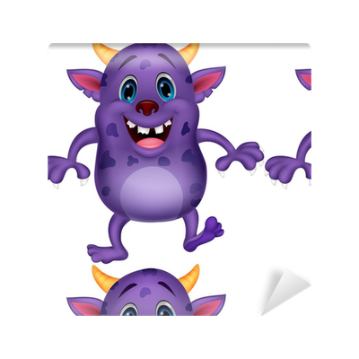 Get Cute Cartoon Wallpaper Monster Background