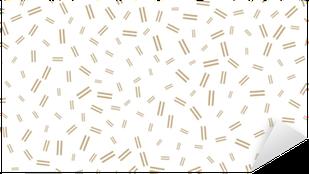 Nálepka Pixerstick abstraktní geometrické