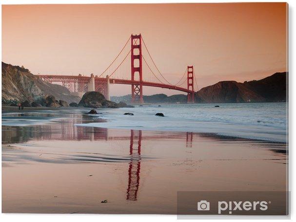 Obraz na PVC Golden Gate Bridge San Francisco - Témata