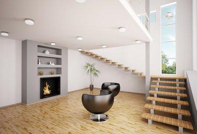 Kamin Modern Design modern wohnzimmer mit kamin interior 3d render wall mural pixers