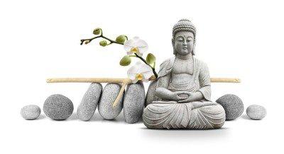 Vinilo para Pared Buda y Bienestar