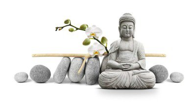 Bouddha et Bien-être Wall Decal
