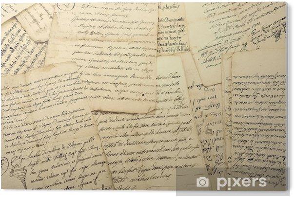 manuscripts Acrylic Print - Graphic Resources