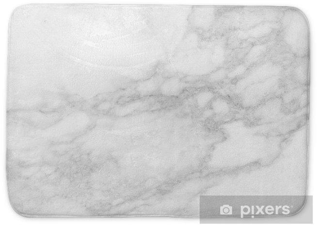 Alfombrilla de baño Fondo de textura de mármol blanco, alta resolución. - Industria