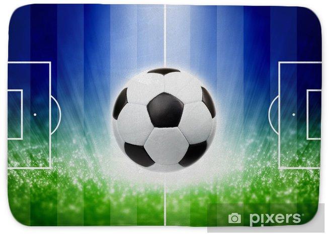 Alfombrilla de baño Soccer fondo - Deportes de equipo