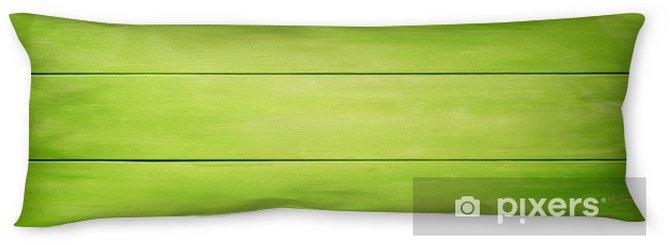 Almohada larga Fondo de tablones de madera verde - Recursos gráficos