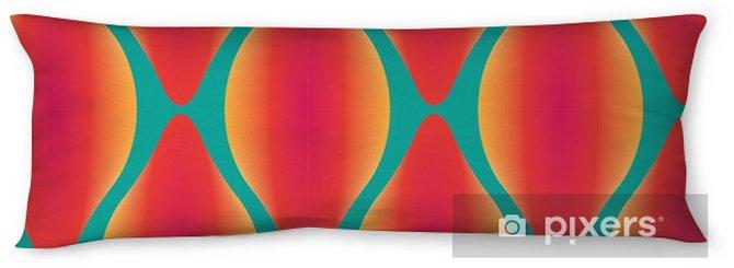 Almohada larga Vector de colorido patrón geométrico sin fisuras abstracta contemporánea - Recursos gráficos