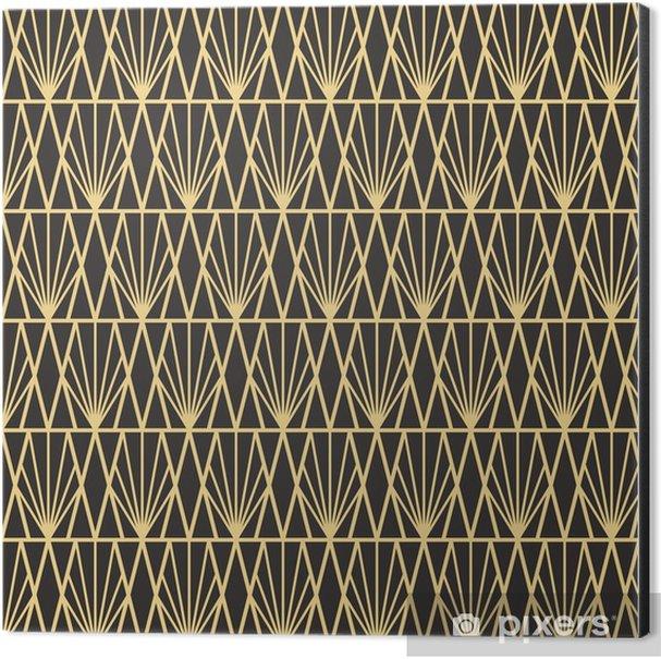 Abstract art deco Aluminium Print (Dibond) - Graphic Resources