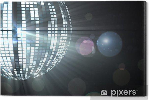Cool disco ball design Aluminium Print (Dibond) - Backgrounds