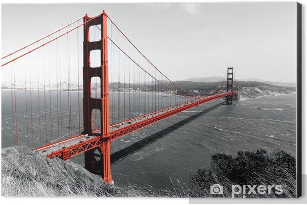 Golden Gate Bridge Aluminium Print (Dibond) - iStaging