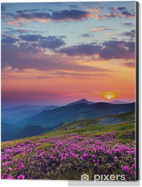 mountain landscape Aluminium Print (Dibond) -