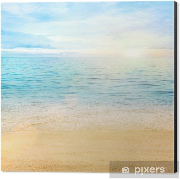 Sea and sand background Aluminium Print (Dibond) - Styles
