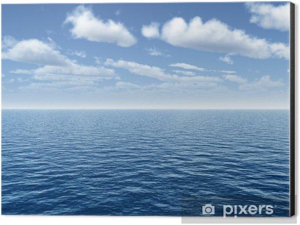 Sea sky Aluminium Print (Dibond) - Water