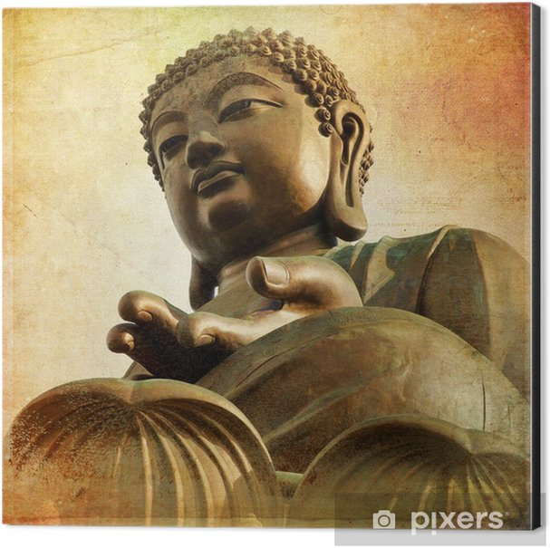 The Great Buddha of Po Lin Monastery - Hong Kong Aluminium Print (Dibond) - Styles
