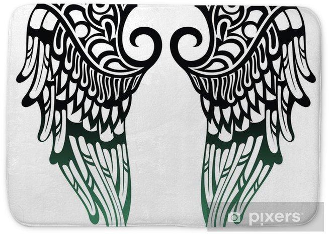 Beautiful Angel Wings Tattoo Lembardo