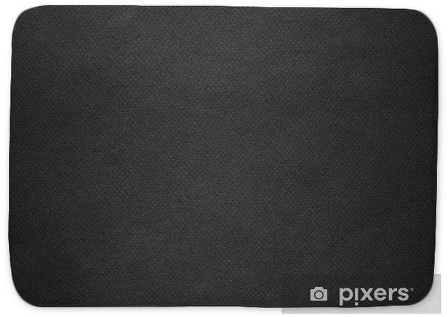Black paper texture  Bath Mat